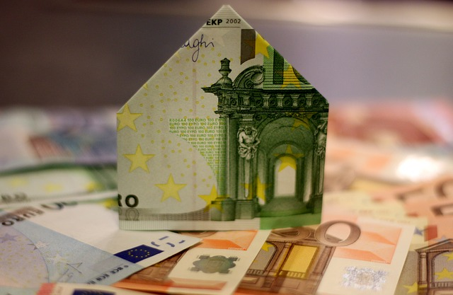 skládačka z peněz, peníze