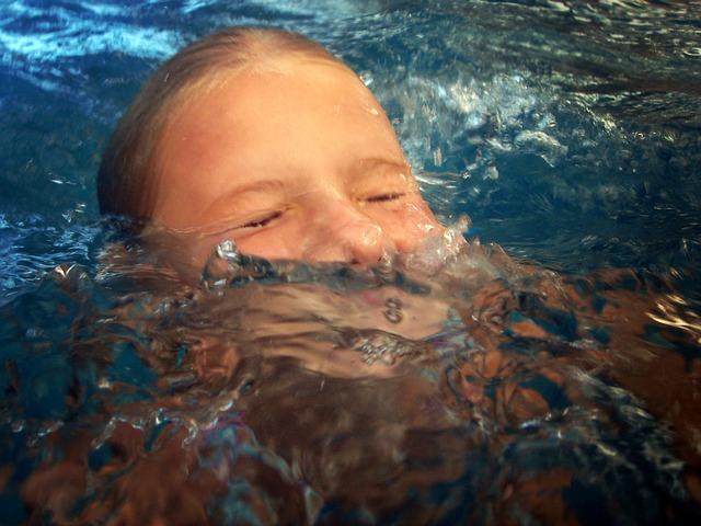 foukání do vody