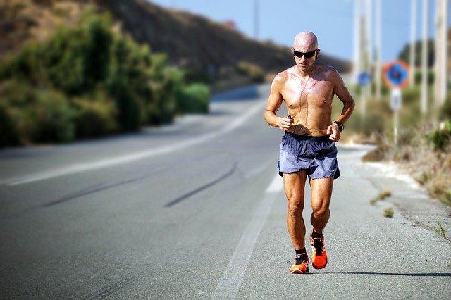 Muž běžec